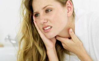 Какие симптомы хронического тонзиллита?